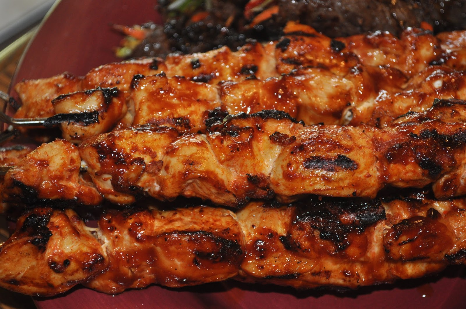 Beth's Favorite Recipes: The Best BBQ Chicken Kebabs Recipe