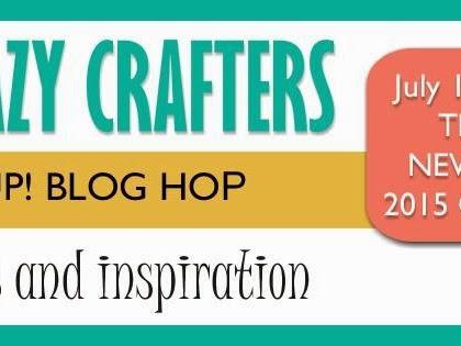 Crazy Crafters July Blog Hop - New Catalogue