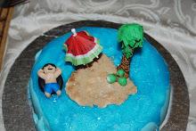 Happy Castaway cake