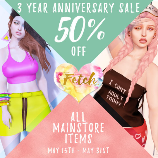 [Fetch] 3 year Anniversary Sale!