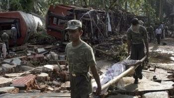 INUINDACIONES EN SRI LANKA DEJAN AL MENOS 35 MUERTOS, 30 DE DICIEMBRE 2014
