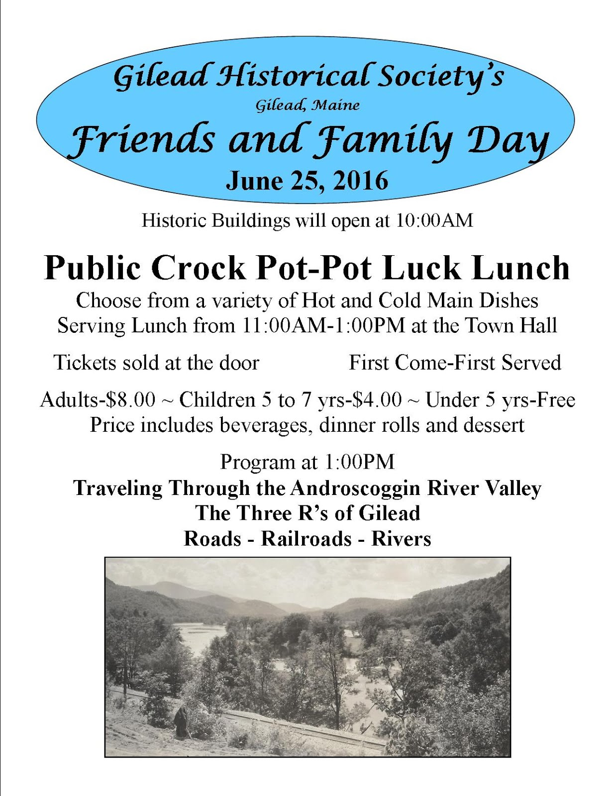 2016 Friends and Family Day