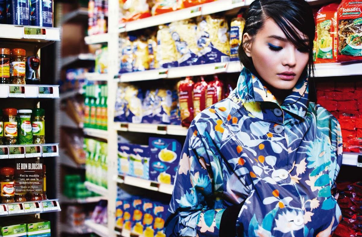 Magazine Photoshoot : Li Wei Photoshot For Glamour Magazine France February 2014 Issue