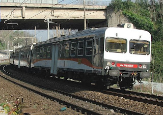 Italian local train