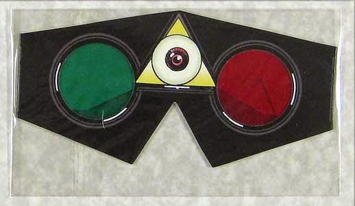 Gafas 3D del Dossier Negro