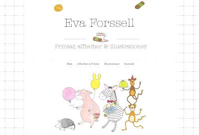 Eva Forssell - illustrationer och printar!