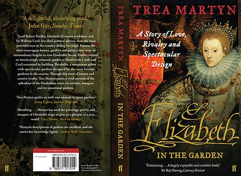 "Book cover of Trea Martyn's ""Elizabeth in the Garden"""