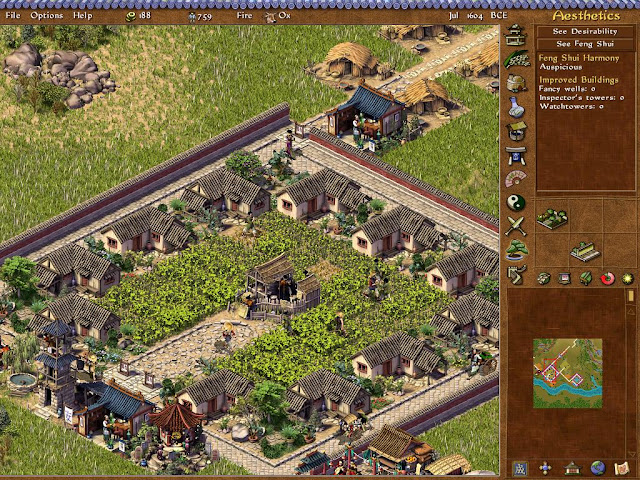 Emperor: Rise of the Middle Kingdom - Hemp Farms Screenshot