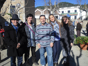 Grupo de poetas en Premiá de Dalt. 2011