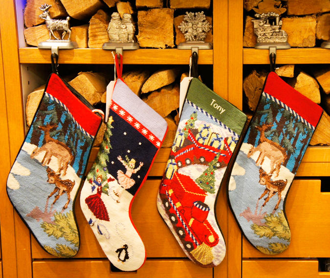 Lands' End stockings