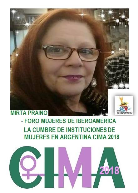 CUMBRE DE INSTITUCIONES DE MUJERES EN ARGENTINA CIMA2018