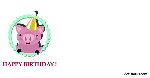 Status chúc mừng sinh nhật - mẫu 10