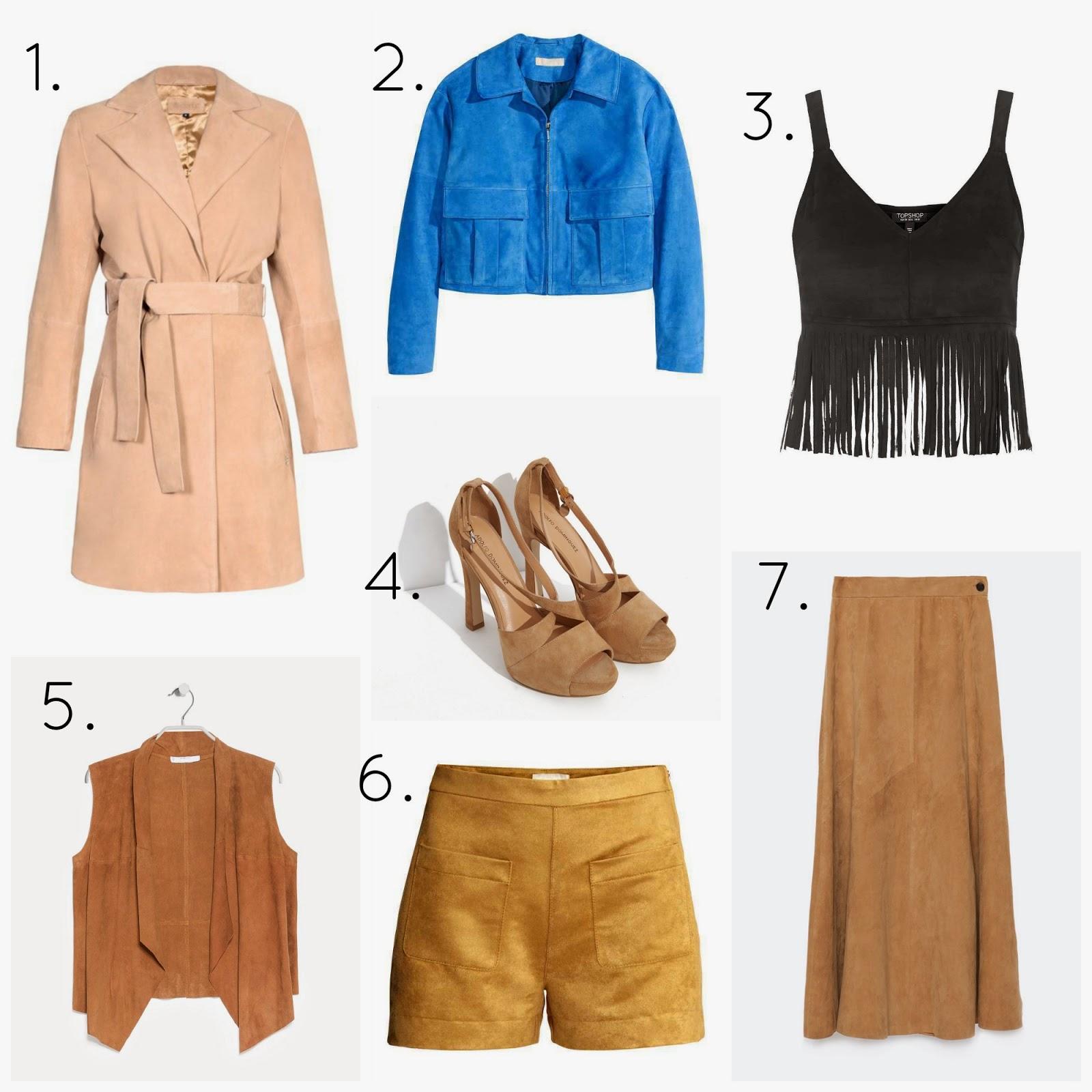 Tendencia Ante moda fashion trendy primavera verano 2015 compras shopping piel pantalon chaleco