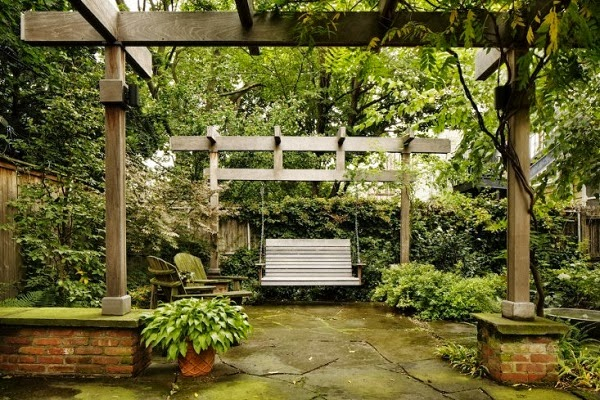 Antes y despu s jard n de una vivienda unifamiliar guia for Casas mi jardin