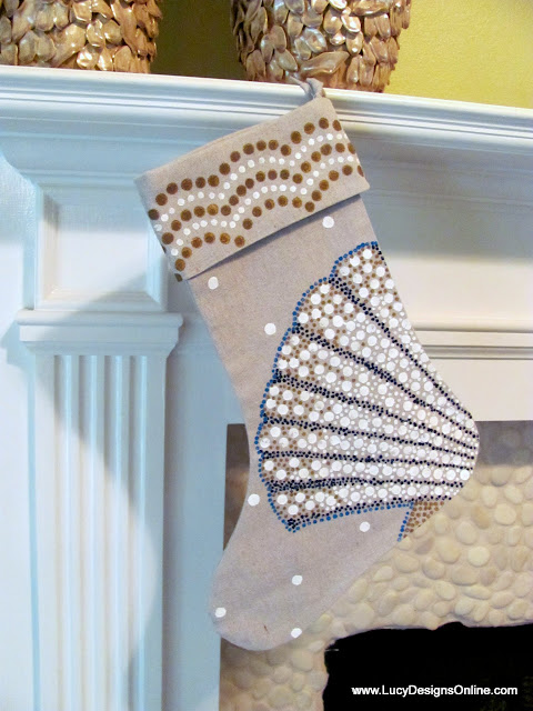 scallop shell stocking