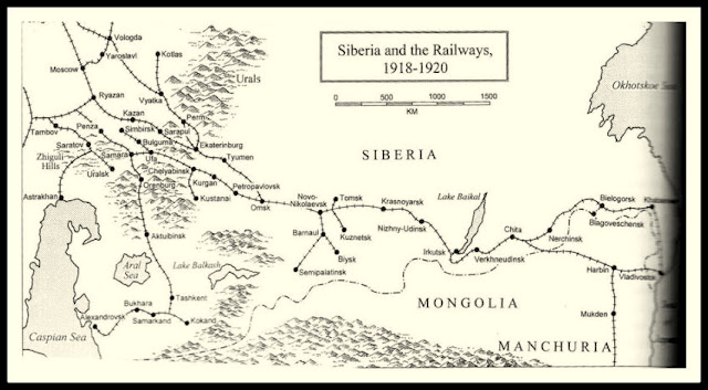 tren ruso transsiberiano trotsky guerra rusa