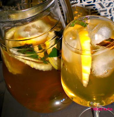 recept za ledeni čaj, meta, metin čaj