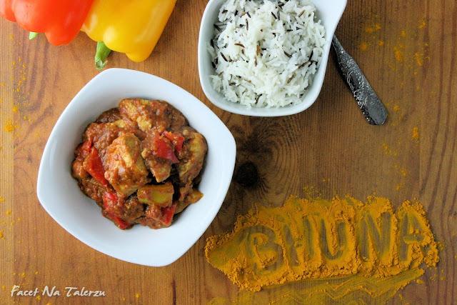 Indyjski kurczak Bhuna