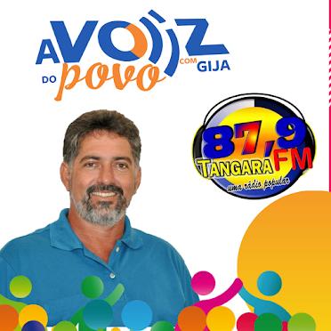 Aos domingos Programa A Voz do Povo com Gija ás 10:00hs