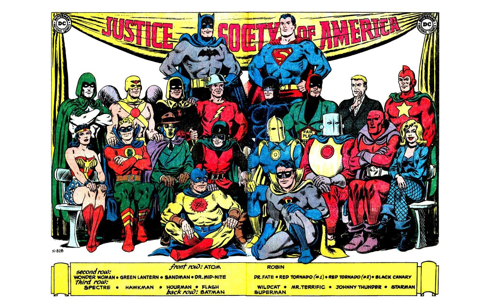 Justice Society Of America La Sociedad De La Justicia De Am 233 Rica Animacionbeta
