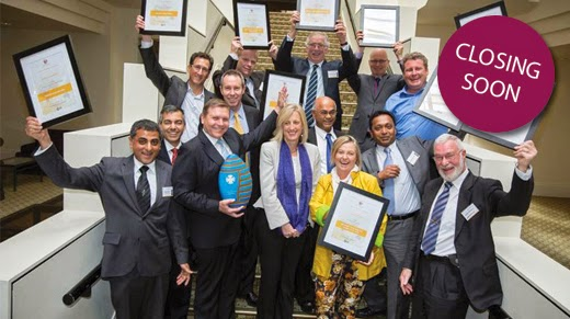 Winners of the 2013 ACT Chief Minister's Export Awards.