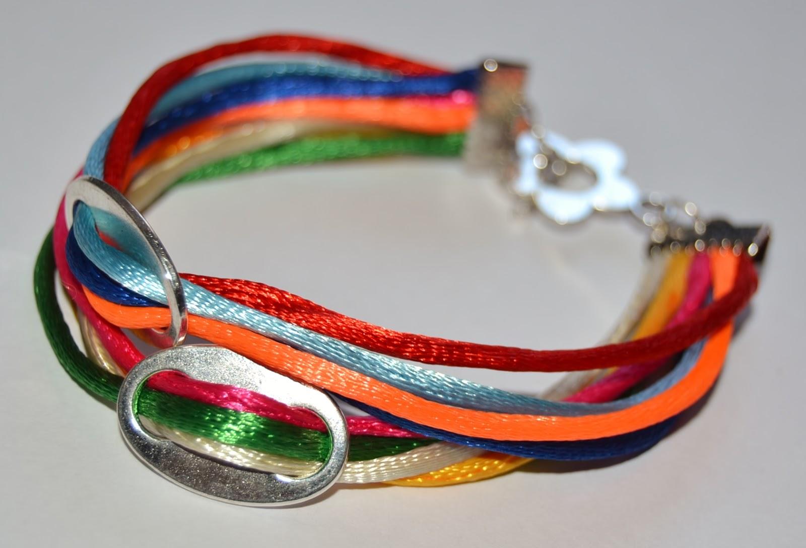imagenes de pulseras de colores - Cómo hacer pulseras de gomitas 1000 Manualidades fáciles