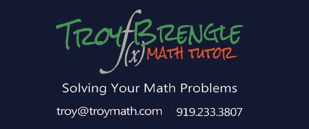 Troy Brengle, Math Tutor