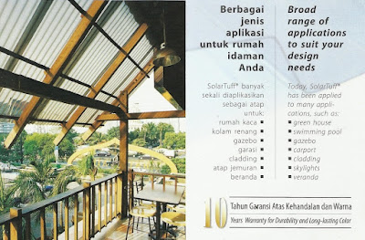 Harga Atap Polycarbonate Solartuff