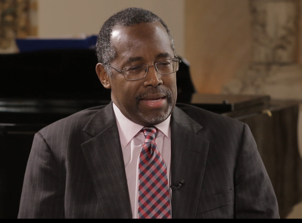 Ben Carson Claims God Might Be Telling Him to Run for President-