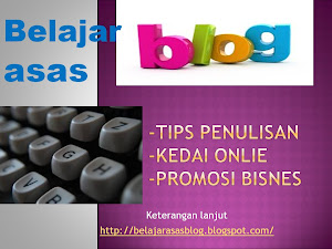 Belajar Asas Blog