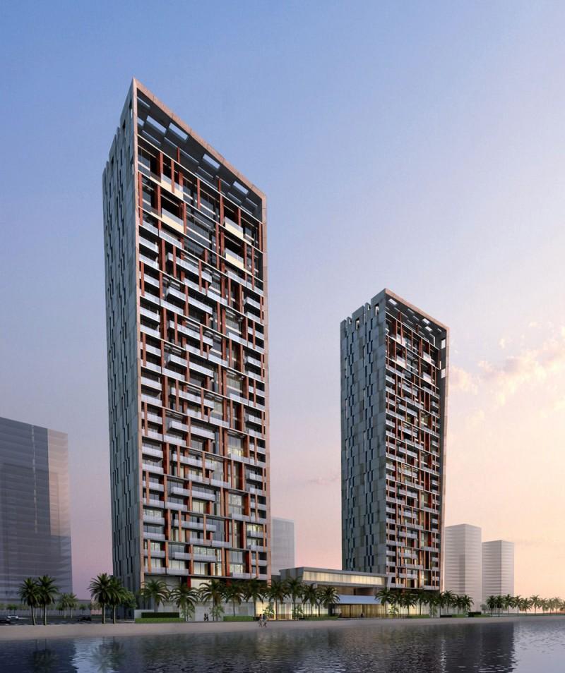 United real estate company residential complex in dubai united arab