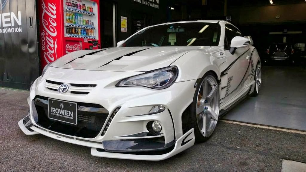 صور سيارات: التعديلات على تويوتا 86