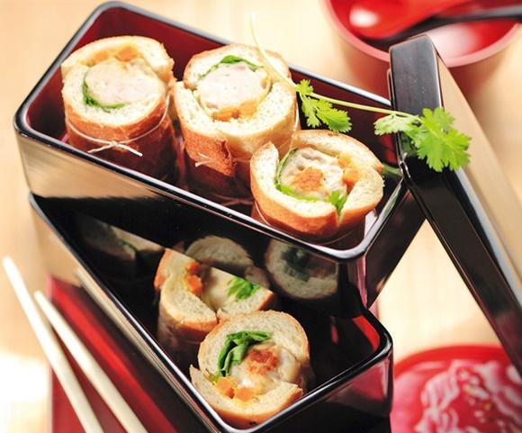 Mini-Sandwichs De Volaille Façon Makis