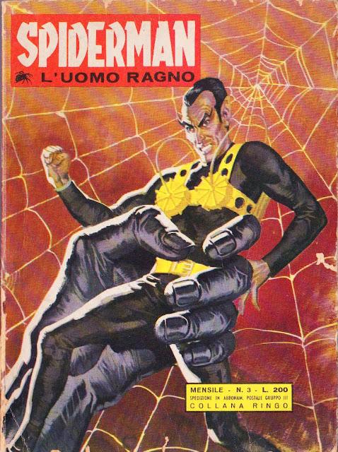 Spiderman L'Uomo Ragno Bianconi numero 3