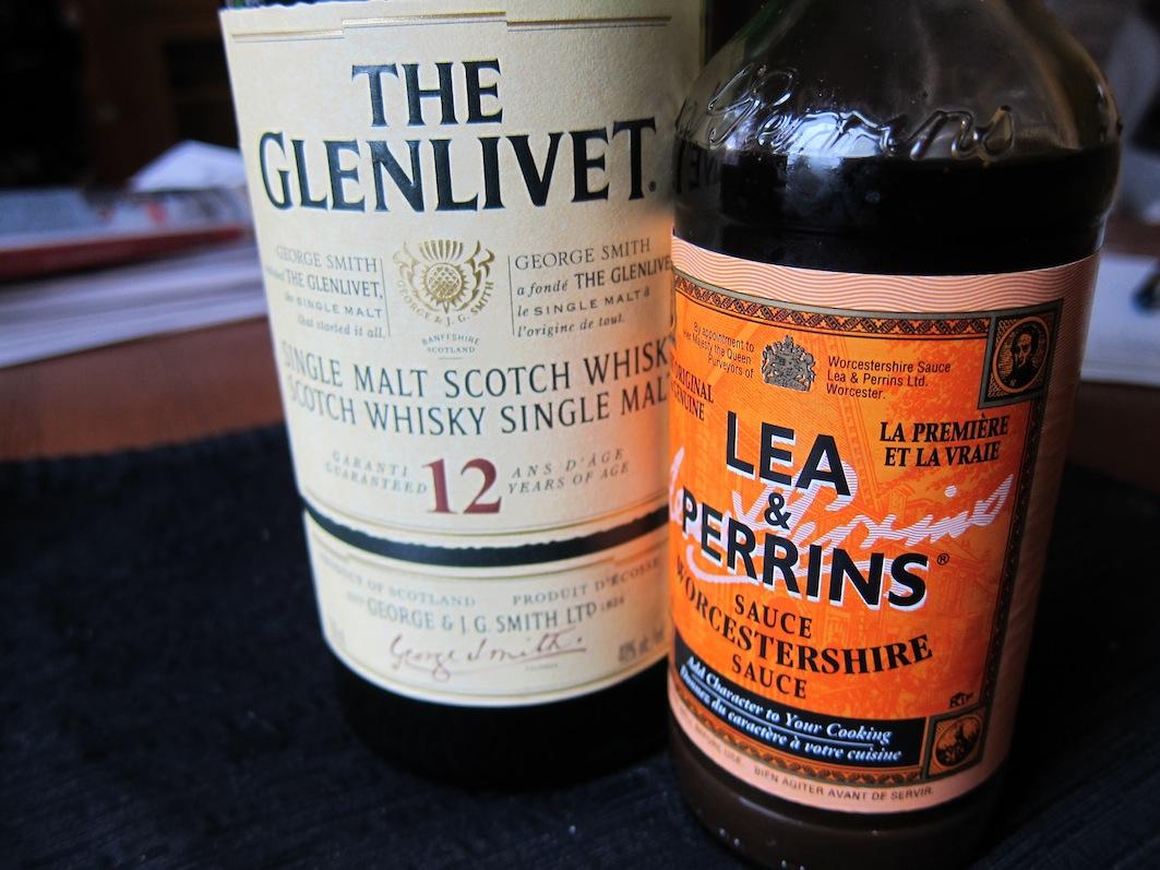 Figareau, cuisine évolutive: Whisky Shrimp Sauce Made For ...