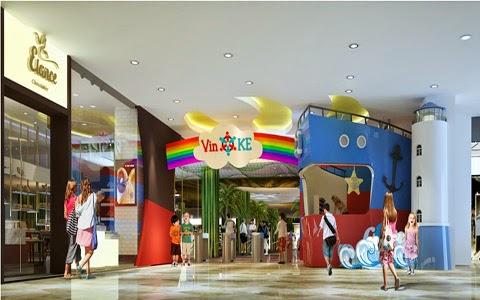 Thế giới trẻ em VinKE nơi vừa học vừa chơi của trẻ em, duy nhất ở Vincom Mega Mall Times City