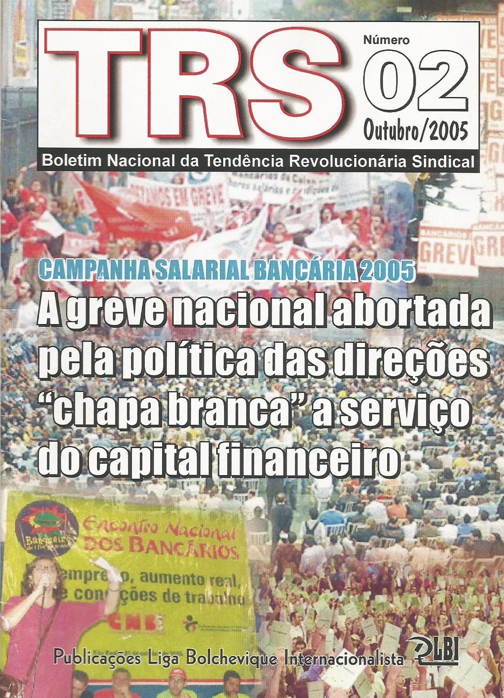 BOLETIM TRS - OUTUBRO/2005