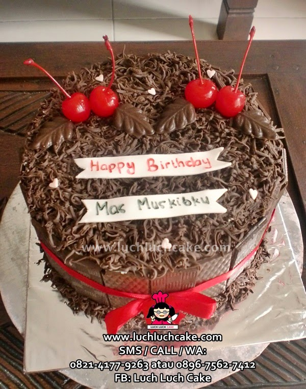 Kue Tart Ulang Tahun Blackforest