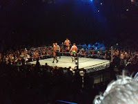 Cody Rhodes & Wade Barrett Vs Ted Dibiase and Randy Orton