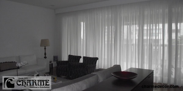 Charmedecor cortinas sala de estar for Cortinas para sala de estar