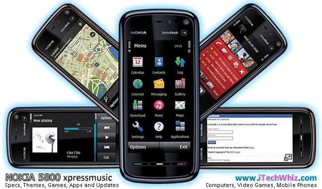Download Nokia 5800 XpressMusic: Themes, Games, Apps and Updates