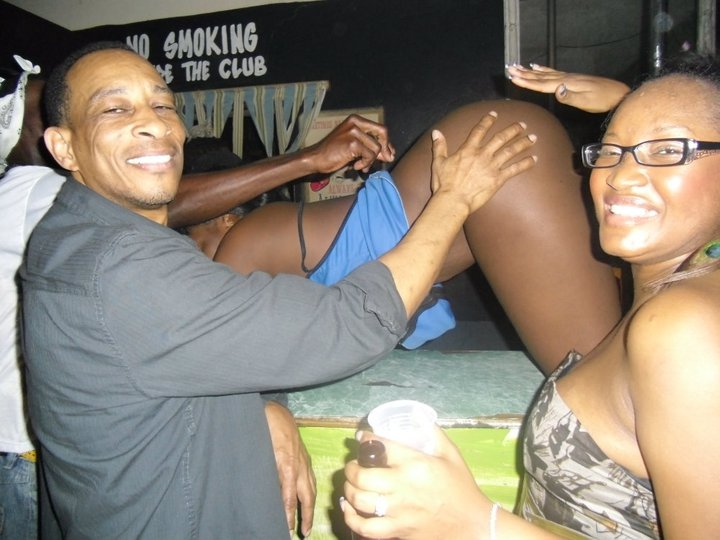 What happens in a Jamaican dancehall.