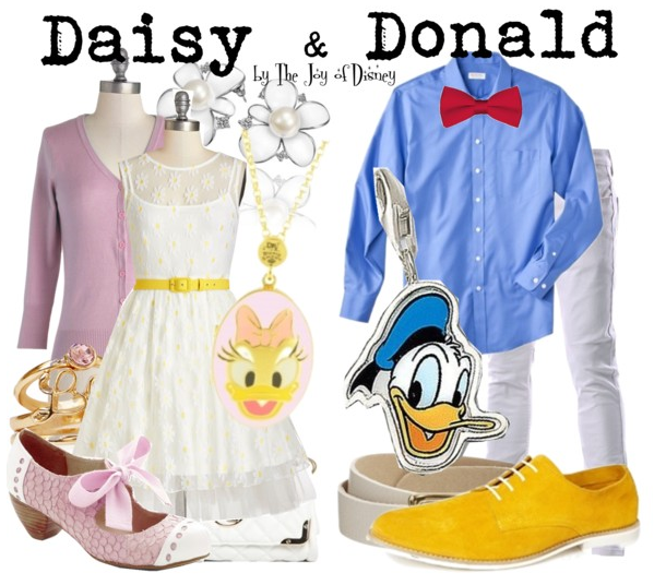 Disney Fashion, Daisy and Donald Duck Outfits