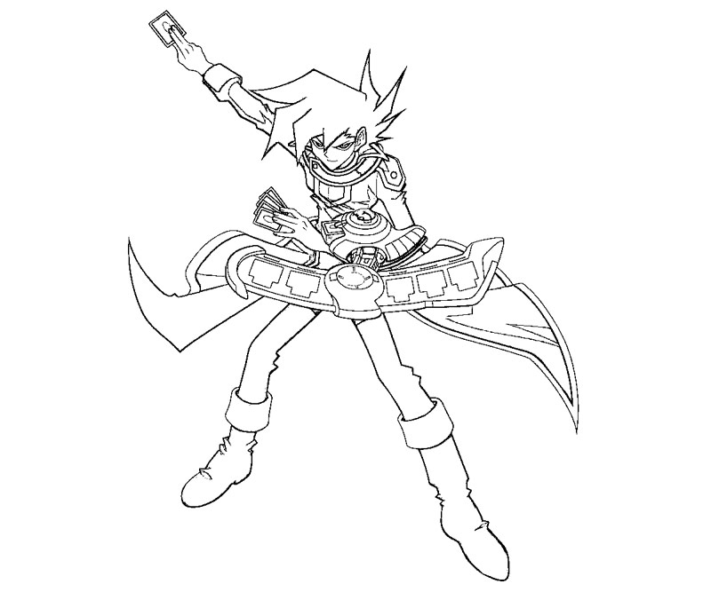 yugioh gx coloring pages - photo#12
