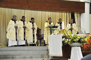 Kaul Kekal Susteran Hermas Karmelitas - Gereja MKK 6 Juli 2013