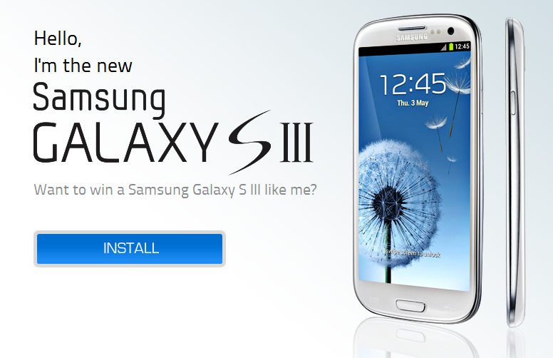 Have a chance to Win a Samsung Galaxy SIII from Globe ...