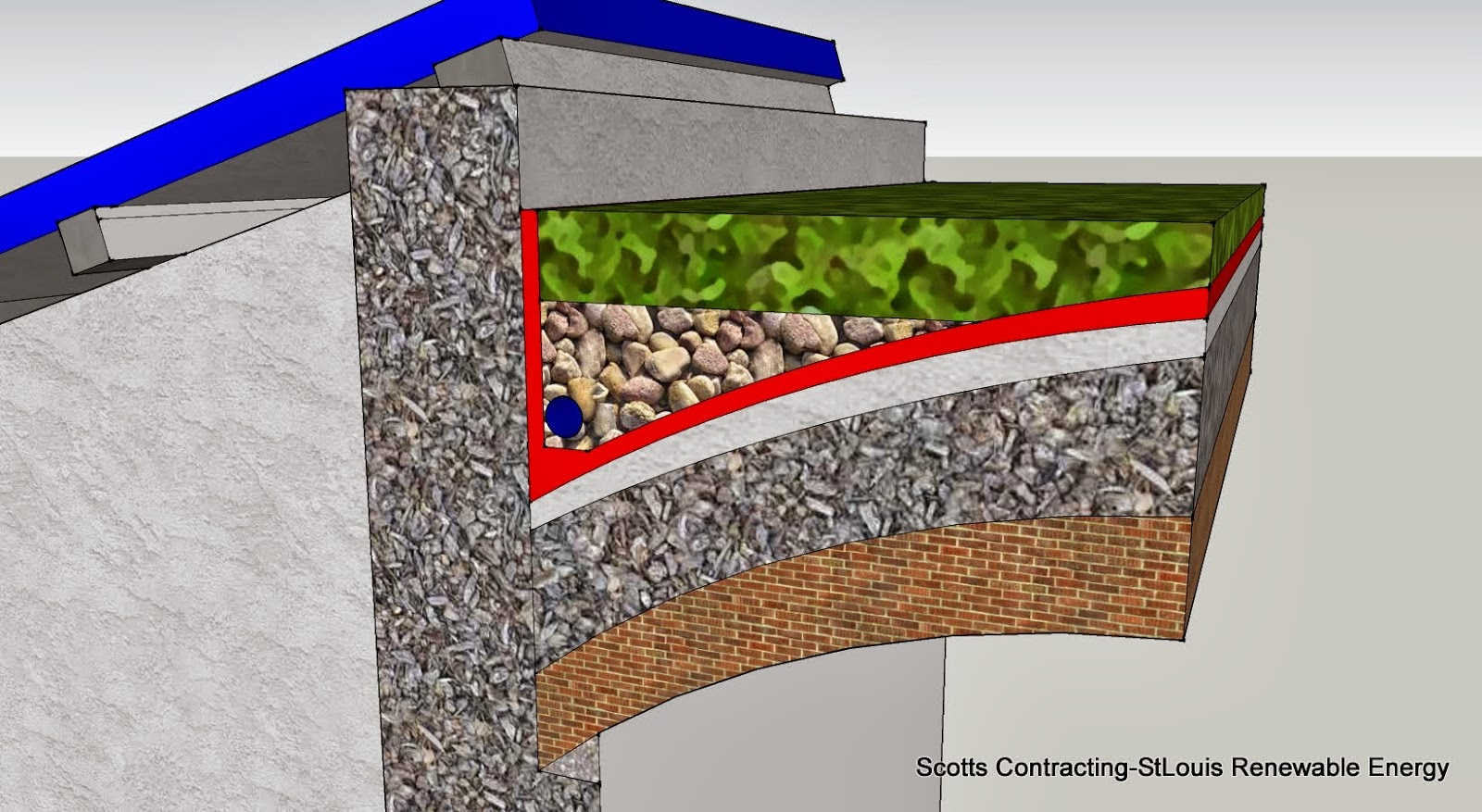 CAD Detail Hemp + Lime mixture  #Hempcrete