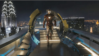 Download Wallpaper Iron Man The Avengers 852 x 480