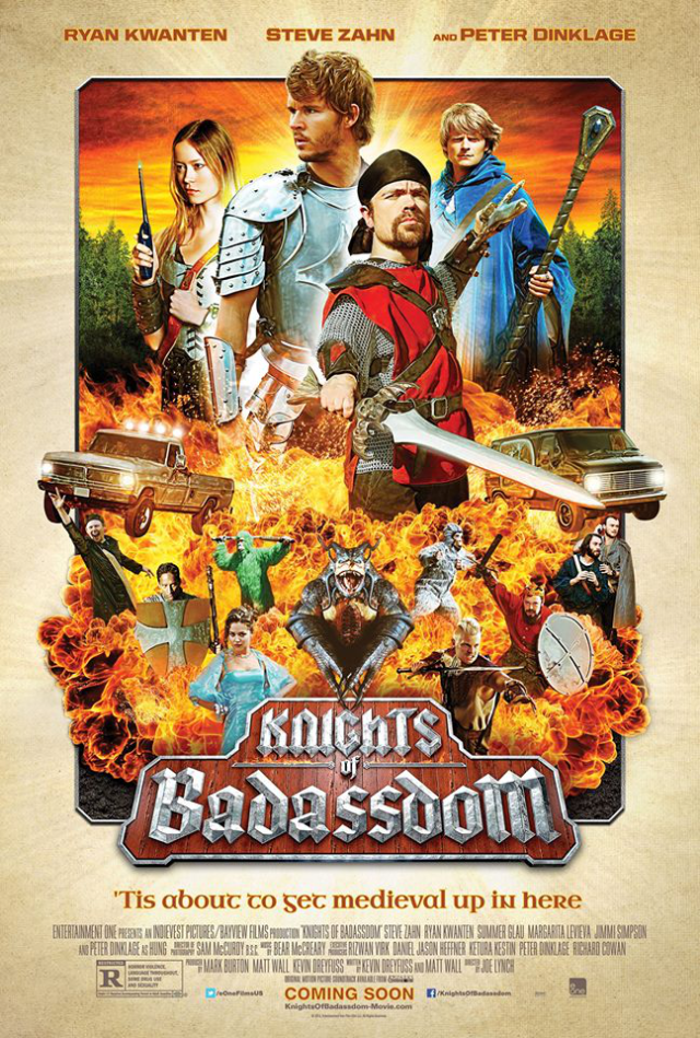 La película Knights of Badassdom