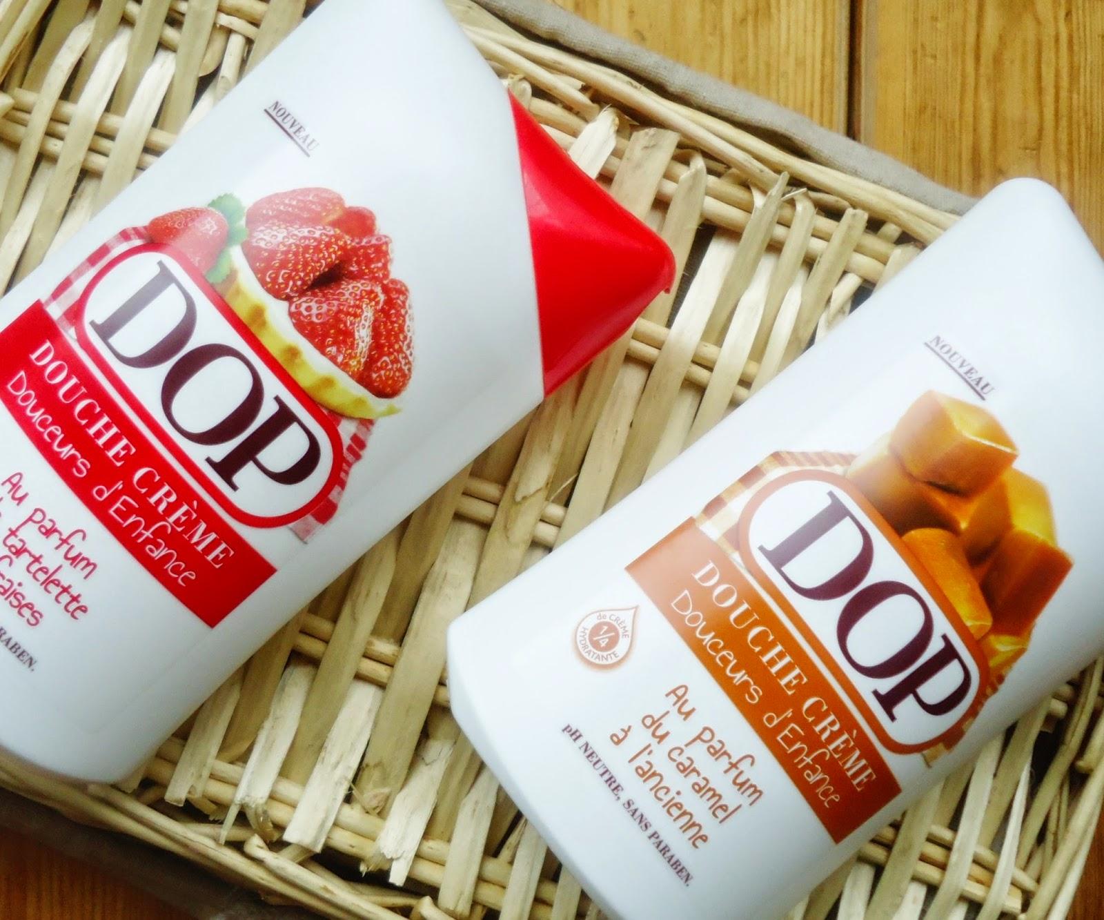 DOP gels douches douceurs d'enfance